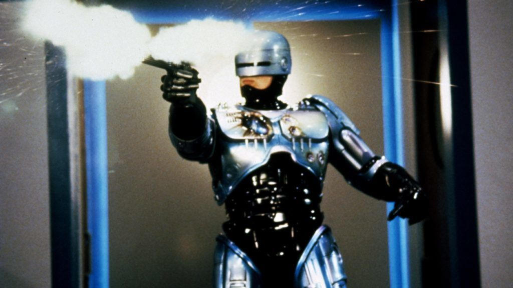 RoboCop 2  Year : 1990 USA Director : Irvin Kershner Peter Weller   Photo: Deana Newcomb. It is forbidden to reproduce the photograph out of context of the promotion of the film. It must be credited to the Film Company and/or the photographer assigned by or authorized by/allowed on the set by the Film Company. Restricted to Editorial Use. Photo12 does not grant publicity rights of the persons represented.