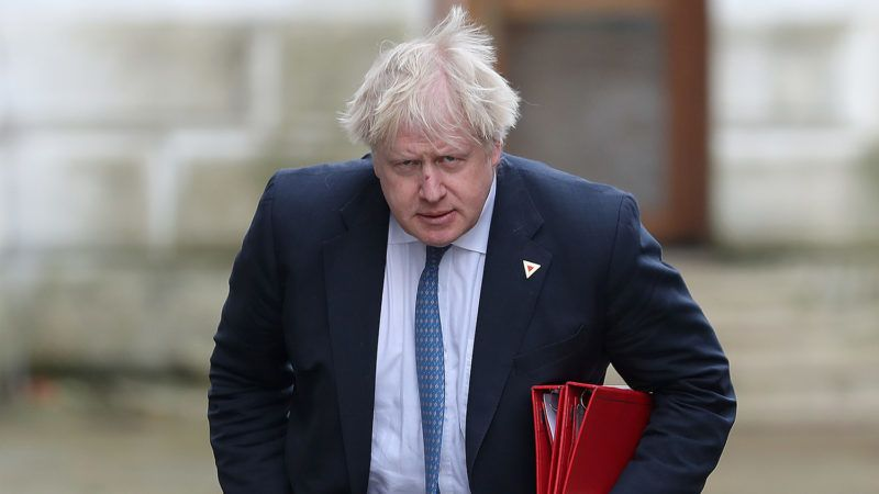 (FILES) In this file photo taken on March 07, 2018 Britain's then Foreign Secretary Boris Johnson arrives in Downing Street in London.Britain's Conservative Party Chairman Brandon Lewis said on August 7, 2018 he had asked former foreign secretary Boris Johnson to apologise for disparaging comments he made about Muslim women wearing burqas. / AFP PHOTO / Daniel LEAL-OLIVAS