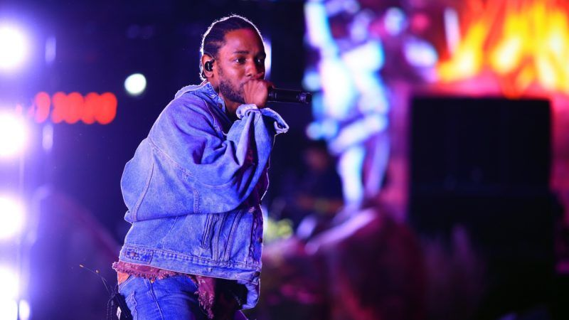 INDIO, CA - APRIL 13: Kendrick Lamar performs onstage with SZA during the 2018 Coachella Valley Music And Arts Festival at the Empire Polo Field on April 13, 2018 in Indio, California.   Christopher Polk/Getty Images for Coachella/AFP