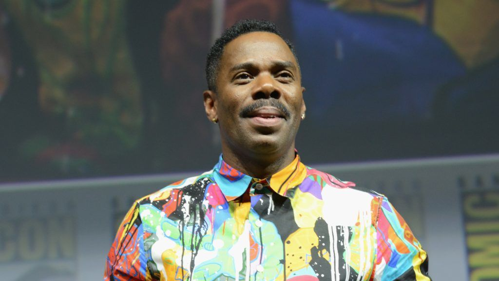 """SAN DIEGO, CA - JULY 20:  Colman Domingo speaks onstage at AMC's """"Fear The Walking Dead"""" panel during Comic-Con International 2018 at San Diego Convention Center on July 20, 2018 in San Diego, California.  (Photo by Albert L. Ortega/Getty Images)"""