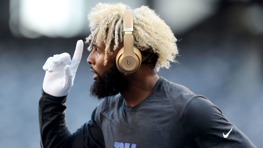 during their preseason game on August 9,2018 at MetLife Stadium in East Rutherford, New Jersey.