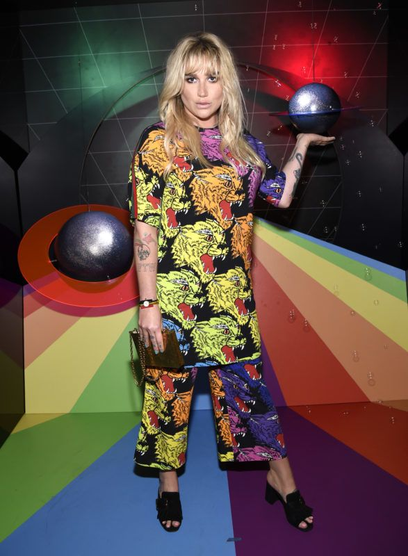"NEW YORK, NY - AUGUST 09:  Apple Music celebrates Kesha at a special fan screening for ""Rainbow - The Film"" at The Metrograph on August 9, 2018 in New York City.""  (Photo by Kevin Mazur/Getty Images for Apple Music)"