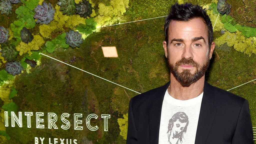 NEW YORK, NY - AUGUST 14:  Justin Theroux attends the INTERSECT by Lexus Preview Event on August 14, 2018 in New York City.  (Photo by Jamie McCarthy/Getty Images for INTERSECT by Lexus )