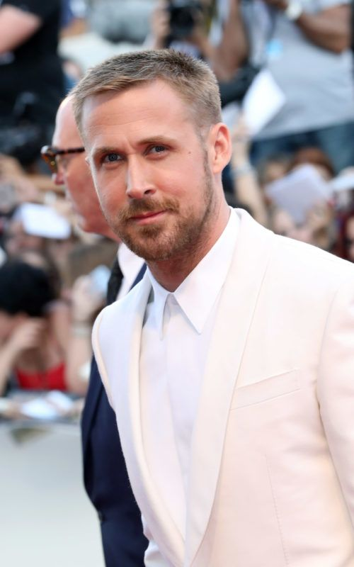 VENICE, ITALY - AUGUST 29: Ryan Gosling walks the red carpet ahead of the opening ceremony and the 'First Man' screening during the 75th Venice Film Festival at Sala Grande on August 29, 2018 in Venice, Italy.  (Photo by Elisabetta A. Villa/WireImage)
