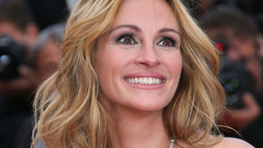 """CANNES, FRANCE - MAY 12:  Julia Roberts attends the """"Money Monster"""" Premiere during the 69th annual Cannes Film Festival on May 12, 2016 in Cannes, France.  (Photo by Tony Barson/FilmMagic)"""
