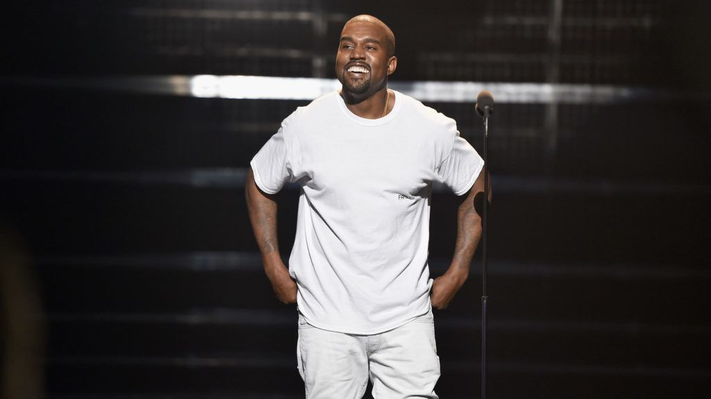 NEW YORK, NY - AUGUST 28:  Kanye West performs at the 2016 MTV Music Video Awards at Madison Square Gareden on August 28, 2016 in New York City.  (Photo by John Shearer/Getty Images for MTV.com)
