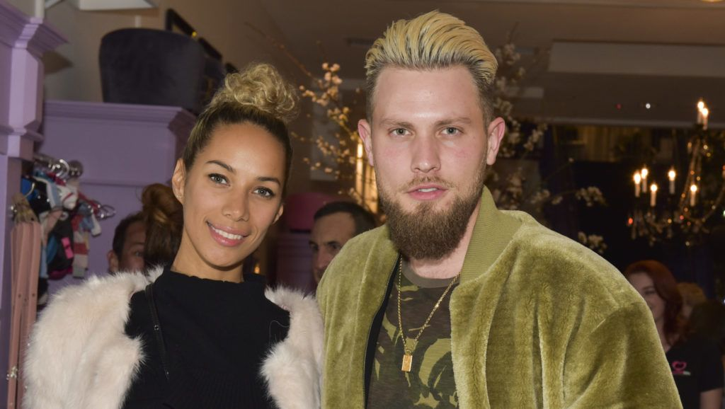 LOS ANGELES, CA - MARCH 01:  Singer-songwriter Leona Lewis (L) and Dennis Jauch pose for portrait at The Vanderpump Dog Center Preview on March 1, 2017 in Los Angeles, California.  (Photo by Rodin Eckenroth/Getty Images)