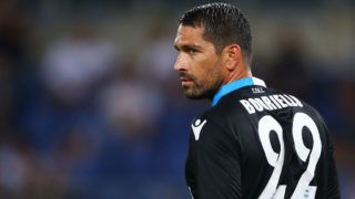 Marco Borriello of Spal at Olimpico Stadium in Rome, Italy on August 20, 2017. (Photo by Matteo Ciambelli/NurPhoto via Getty Images)