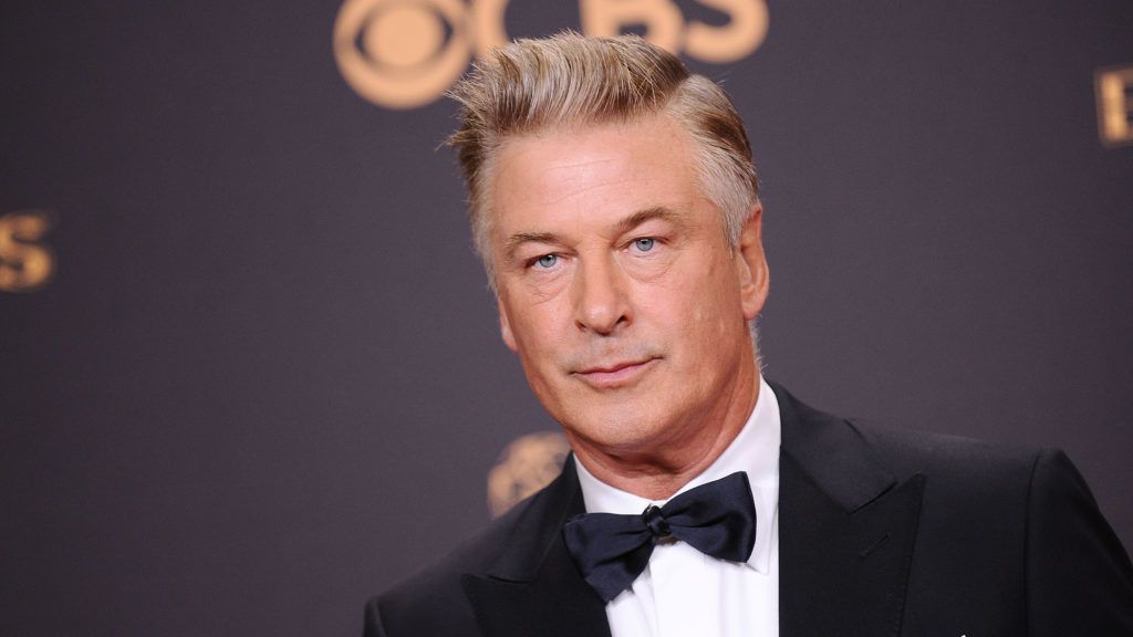 LOS ANGELES, CA - SEPTEMBER 17:  Alec Baldwin poses in the press room at the 69th annual Primetime Emmy Awards at Microsoft Theater on September 17, 2017 in Los Angeles, California.  (Photo by Jason LaVeris/FilmMagic)
