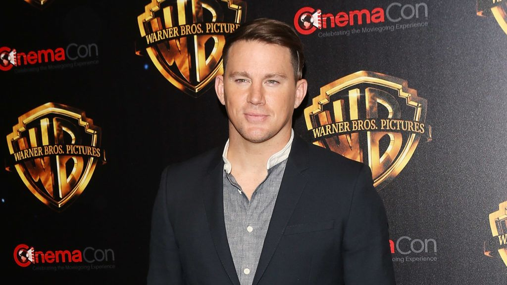 """LAS VEGAS, NV - APRIL 24:  Channing Tatum attends the 2018 CinemaCon - Warner Bros. Pictures """"The Big Picture"""" an exclusive presentation held at The Colosseum at Caesars Palace on April 24, 2018 in Las Vegas, Nevada.  (Photo by Michael Tran/FilmMagic)"""