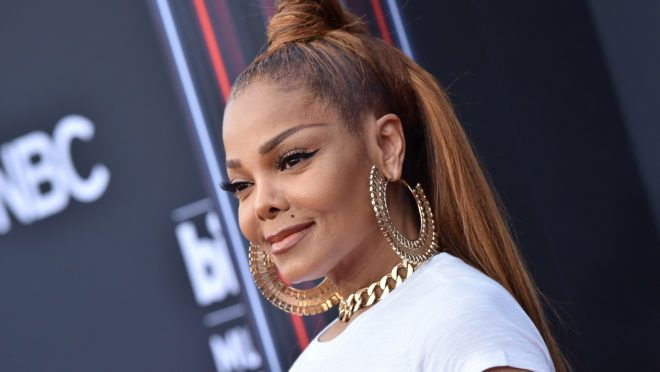 LAS VEGAS, NV - MAY 20:  Recording artist Janet Jackson attends the 2018 Billboard Music Awards at MGM Grand Garden Arena on May 20, 2018 in Las Vegas, Nevada.  (Photo by Axelle/Bauer-Griffin/FilmMagic)