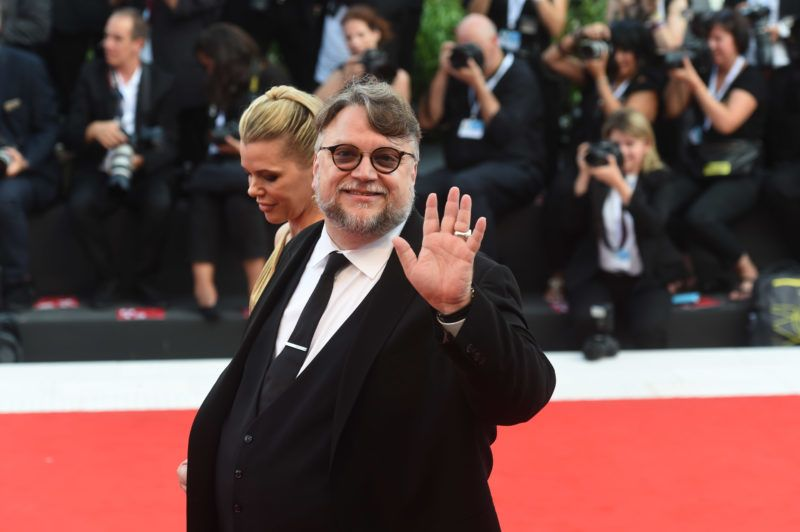 29.08.2018, Italy, Venice: The jury president Guillermo Del Toro can be seen at the opening of the film festival on the red carpet at the Lido. The film festival runs from 29 August to 8 September and is taking place for the 75th time this year. Photo: Felix Hörhager/dpa