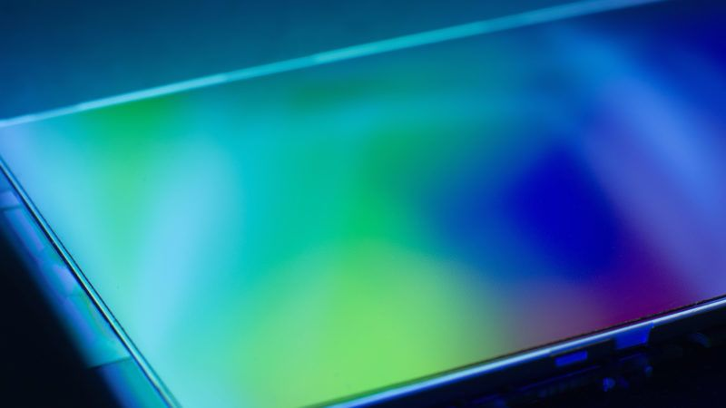 Science new technology electronics lcd screen engineering concept