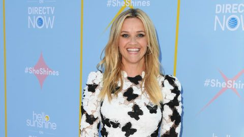 """LOS ANGELES, CA - AUGUST 06:  Reese Witherspoon attends AT&T & Hello Sunshine Celebrate The Launch Of """"Shine On With Reese"""" at NeueHouse Hollywood on August 6, 2018 in Los Angeles, California.  (Photo by Jon Kopaloff/FilmMagic)"""
