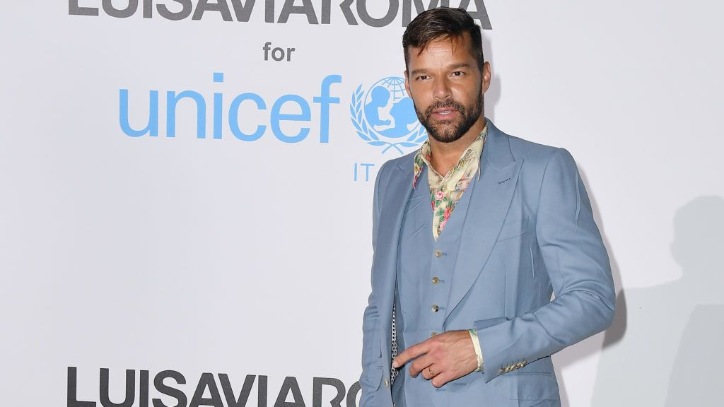 PORTO CERVO, ITALY - AUGUST 10:  Ricky Martin attends a photocall for the Unicef Summer Gala Presented by Luisaviaroma at Villa Violina on August 10, 2018 in Porto Cervo, Italy.  (Photo by Jacopo Raule/Getty Images for UNICEF)