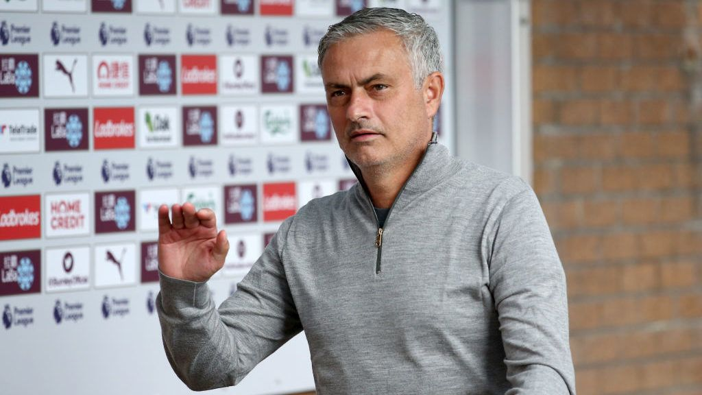 BURNLEY, ENGLAND - SEPTEMBER 02: Jose Mourinho, Manager of Manchester United arrives at the stadium prior to the Premier League match between Burnley FC and Manchester United at Turf Moor on September 2, 2018 in Burnley, United Kingdom.  (Photo by Jan Kruger/Getty Images)