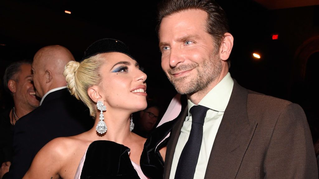 """TORONTO, ON - SEPTEMBER 09:  Lady Gaga (L) and Bradley Cooper attend the """"A Star Is Born"""" premiere after party during 2018 Toronto International Film Festival at Masonic Temple on September 9, 2018 in Toronto, Canada.  (Photo by Kevin Mazur/Getty Images)"""