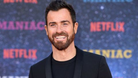 """LONDON, ENGLAND - SEPTEMBER 13:  Justin Theroux attends the World premiere of the new Netflix series """"Maniac"""" at Southbank Centre on September 13, 2018 in London, England.  (Photo by Karwai Tang/WireImage)"""