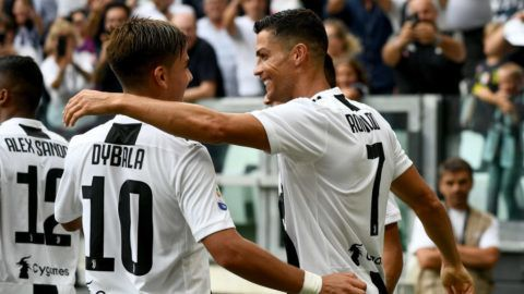 during the serie A match between Juventus and US Sassuolo at Allianz Stadium on September 16, 2018 in Turin, Italy.