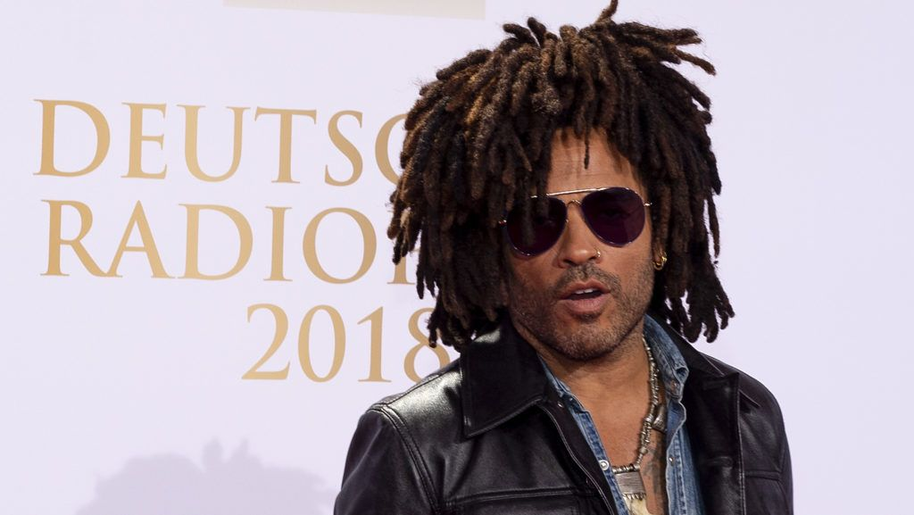 HAMBURG, GERMANY - SEPTEMBER 06: Lenny Kravitz attends the Deutscher Radiopreis at Schuppen 52 on September 6, 2018 in Hamburg, Germany. (Photo by TF-Images/Getty Images)