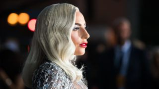 """LOS ANGELES, CA - SEPTEMBER 24:  Lady Gaga attends the premiere of Warner Bros. Pictures' """"A Star Is Born"""" at The Shrine Auditorium on September 24, 2018 in Los Angeles, California.  (Photo by Emma McIntyre/Getty Images)"""