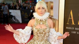 LONDON, ENGLAND - SEPTEMBER 27:  Lady Gaga attends the UK premiere of 'A Star Is Born' held at Vue West End on September 27, 2018 in London, England.  (Photo by Dave J Hogan/Dave J Hogan/Getty Images)