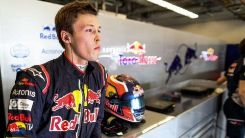 AUSTIN, TX - OCTOBER 20:  Daniil Kvyat of Scuderia Toro Rosso and Russia  during practice for the United States Formula One Grand Prix at Circuit of The Americas on October 20, 2017 in Austin, Texas.  (Photo by Peter Fox/Getty Images)