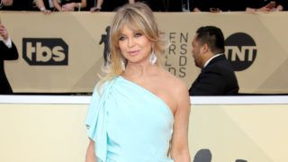 LOS ANGELES, CA - JANUARY 21: Goldie Hawn arrives at the 24th Annual Screen Actors Guild Awards at The Shrine Auditorium on January 21, 2018 in Los Angeles, California. (Photo by Dan MacMedan/Getty Images)