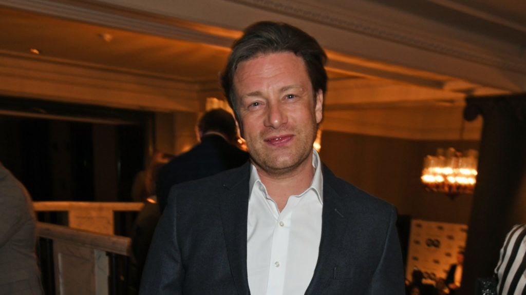 LONDON, ENGLAND - APRIL 23:  Jamie Oliver attends the GQ Food & Drink Awards at Rosewood London on April 23, 2018 in London, England.  (Photo by David M. Benett/Dave Benett/Getty Images)