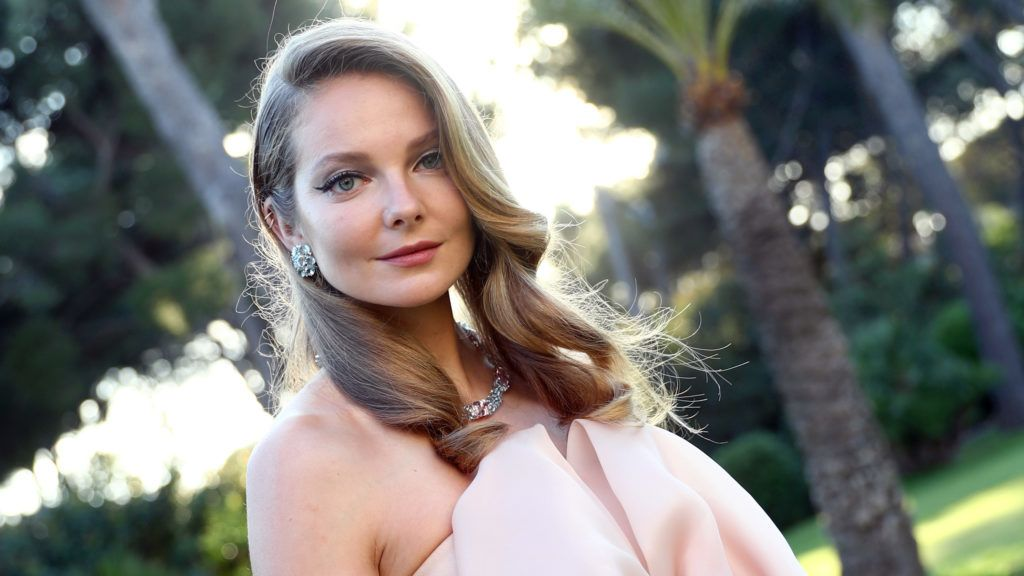 CAP D'ANTIBES, FRANCE - MAY 17:  Eniko Mihalik attends the cocktail at the amfAR Gala Cannes 2018 at Hotel du Cap-Eden-Roc on May 17, 2018 in Cap d'Antibes, France.  (Photo by Tristan Fewings/amfAR/Getty Images)