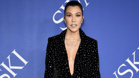 NEW YORK, NY - JUNE 04:  Kourtney Kardashian attends the 2018 CFDA Fashion Awards at Brooklyn Museum on June 4, 2018 in New York City.  (Photo by Kevin Mazur/WireImage)