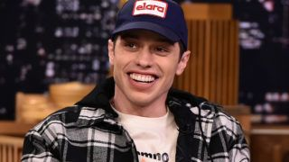 """NEW YORK, NY - JUNE 20:  Pete Davidson Visits """"The Tonight Show Starring Jimmy Fallon"""" at Rockefeller Center on June 20, 2018 in New York City.  (Photo by Theo Wargo/Getty Images for NBC)"""