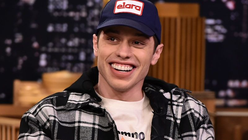 "NEW YORK, NY - JUNE 20:  Pete Davidson Visits ""The Tonight Show Starring Jimmy Fallon"" at Rockefeller Center on June 20, 2018 in New York City.  (Photo by Theo Wargo/Getty Images for NBC)"