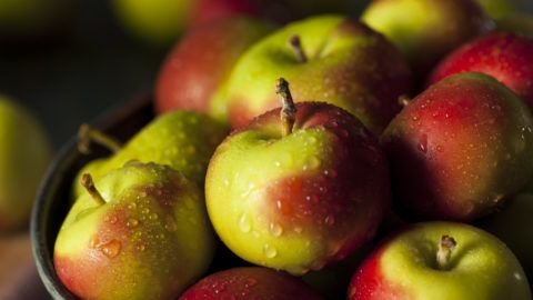 Raw Organic Lady Apples for the Holidays