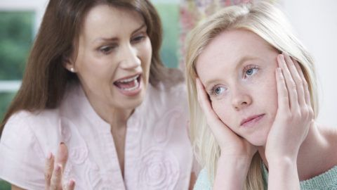 Mother Arguing With Teenage Daughter