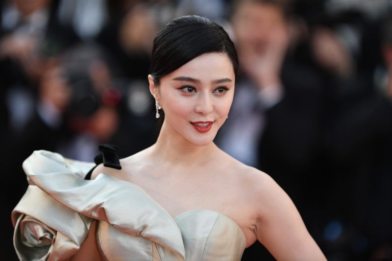 CANNES, FRANCE - MAY 11: Chinese actress Fan Bingbing arrives for the screening of the film 'Ash Is Purest White' in competition at the 71st Cannes Film Festival in Cannes, France on May 11, 2018. Mustafa Yalcin / Anadolu Agency