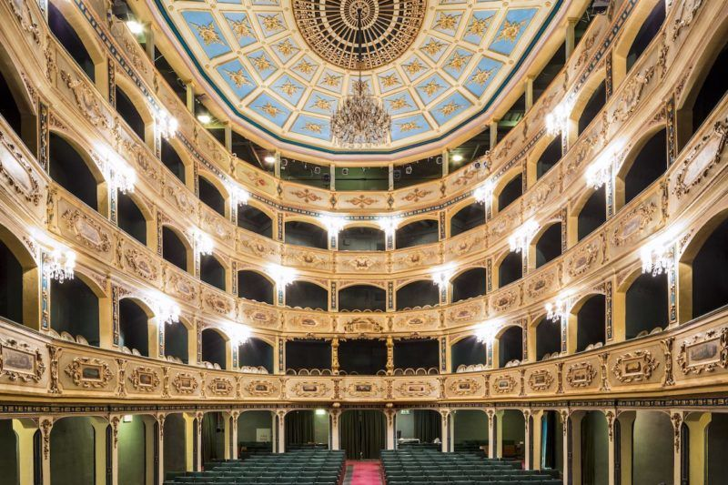 Malta, Valletta, National Theatre Manoel Italian theater dating from 1732 is the oldest still in use in Europe