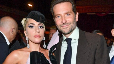 TORONTO, ON - SEPTEMBER 09:  Lady Gaga and Bradley Cooper attend the Audi Canada And Links Of London Co-Hosted Post-Screening Event For 'A Star Is Born' During The Toronto International Film Festival at Masonic Temple on September 9, 2018 in Toronto, Canada.  (Photo by George Pimentel/Getty Images for Audi)