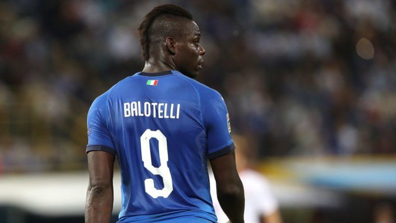 BOLOGNA, ITALY - SEPTEMBER 07:  Mario Balotelli of Italy looks on during the UEFA Nations League A group three match between Italy and Poland at Stadio Renato Dall'Ara on September 7, 2018 in Bologna, Italy.  (Photo by Marco Luzzani/Getty Images)