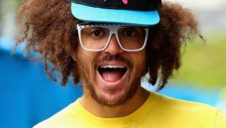 MELBOURNE, AUSTRALIA - JANUARY 22:  Stefan 'Redfoo' Gordy of the American electro duo LMFAO is seen during day nine of the 2013 Australian Open at Melbourne Park on January 22, 2013 in Melbourne, Australia.  (Photo by Lucas Dawson/Getty Images)