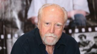 """NOVI, MI - MAY 15:  Scott Wilson (""""Dr. Hershel Greene,"""" on AMC's The Walking Dead) attends the Motor City Comic Con, at Suburban Collection Showplace on May 15, 2015 in Novi, Michigan.  (Photo by Monica Morgan/WireImage)"""