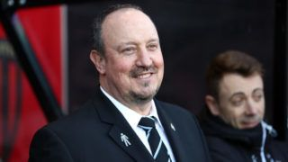 BOURNEMOUTH, ENGLAND - FEBRUARY 24: Rafael Benitez Manager / head coach of Newcastle United during the Premier League match between AFC Bournemouth and Newcastle United at Vitality Stadium on February 24, 2018 in Bournemouth, England. (Photo by Catherine Ivill/Getty Images)