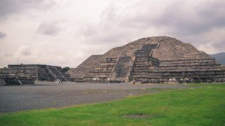 Teotihuacan. Pyramid of the Moon