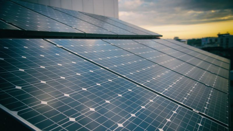 Solar Power cells panels for clean energy.