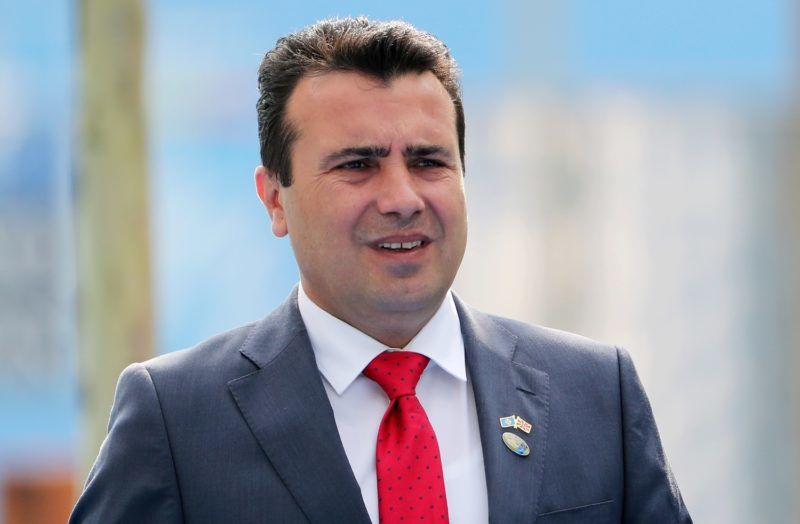 Macedonian Prime Minister Zoran Zaev arrives to attend the second day of the North Atlantic Treaty Organization (NATO) summit in Brussels on July 12, 2018. (Photo by Tatyana ZENKOVICH / POOL / AFP)