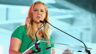 NEW YORK, NY - AUGUST 08:  Amy Schumer attends #BlogHer18 Creators Summit at Pier 17 on August 8, 2018 in New York City.  (Photo by Astrid Stawiarz/Getty Images)