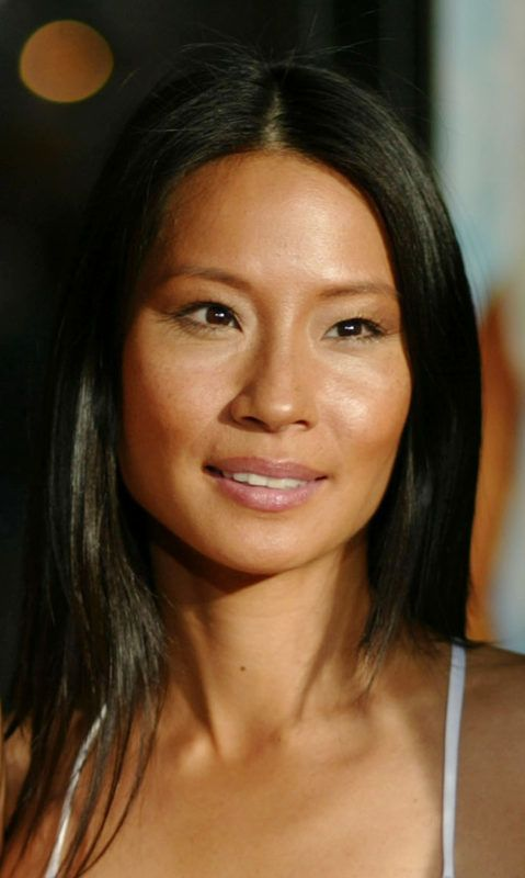 """Lucy Liu during Premiere of """"Charlie's Angels: Full Throttle"""" at Grauman's Chinese Theatre in Hollywood, California, United States. (Photo by Chris Polk/FilmMagic)"""