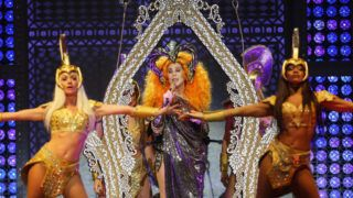 SYDNEY, AUSTRALIA - OCTOBER 18:  Cher performs at Qudos Bank Arena on October 18, 2018 in Sydney, Australia.  (Photo by Don Arnold/WireImage)