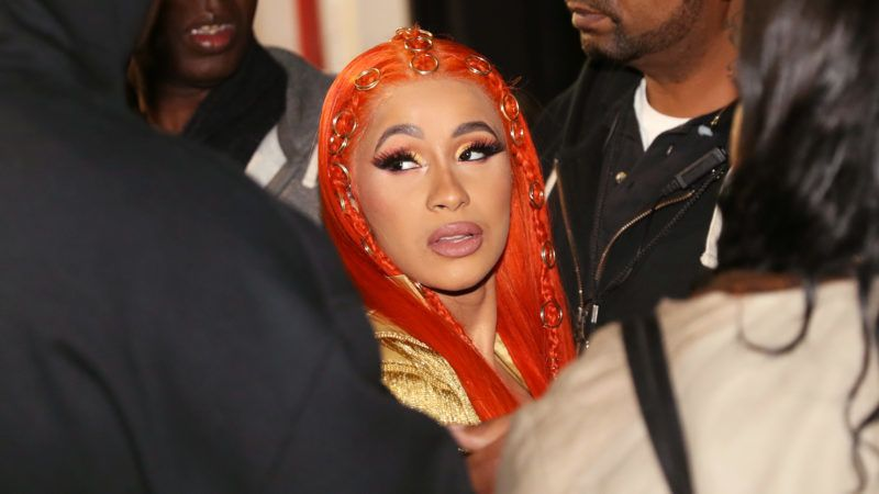 NEWARK, NJ - OCTOBER 28:  Cardi B backstage at 2018 Power105.1 Powerhouse NYC at Prudential Center on October 28, 2018 in Newark, New Jersey.  (Photo by Johnny Nunez/WireImage)