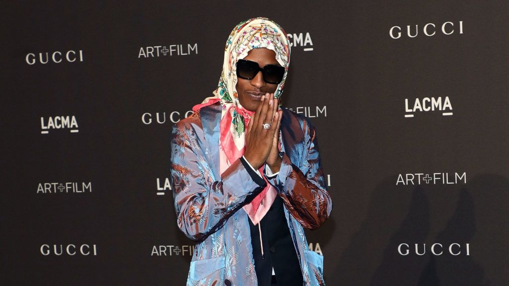 LOS ANGELES, CA - NOVEMBER 03:  A$AP Rocky attends the 2018 LACMA Art+Film Gala at LACMA on November 3, 2018 in Los Angeles, California.  (Photo by Taylor Hill/Getty Images)